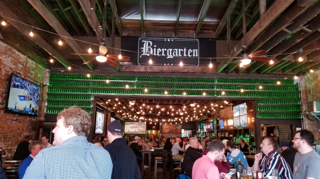 The Short North Pint House was a stop on the Columbus Food Adventure tour.