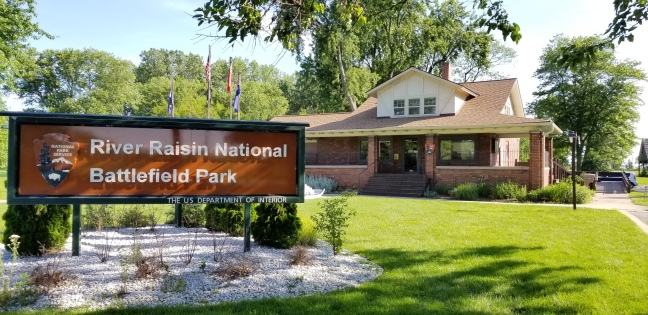 Visitor Center at River Raisin National Battlefield Park