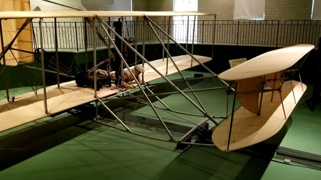 The Wright Flyer III at Carillon Historical Park
