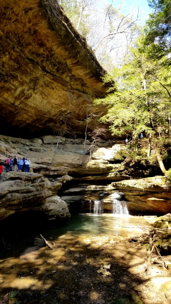 Old Man's Cave in Hocking Hills State Park